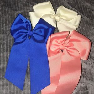 Jumbo Hair Bow Trio